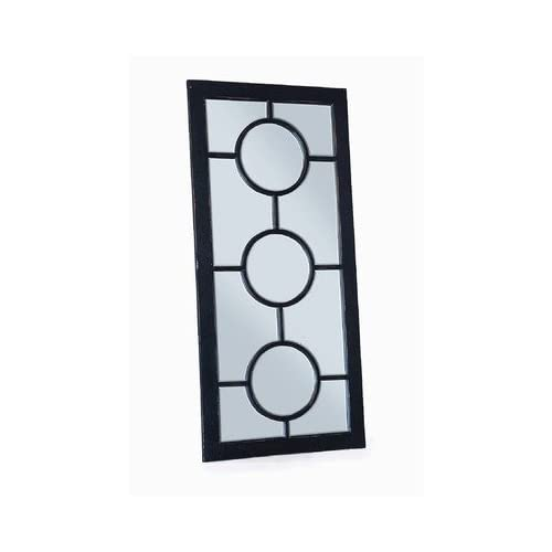 Circles Full Length Floor Mirror
