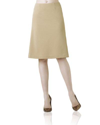 Ponte Flared Swing Skirt