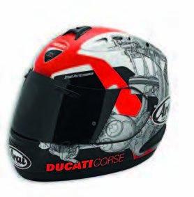 Ducati Arai Helmet Corse 14 (XL)
