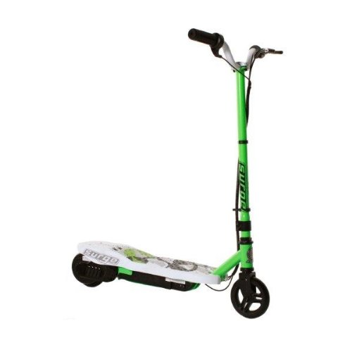 Dynacraft Surge Electric Scooter, Green/White/Black