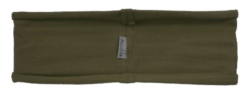 Olive Green Headband - stretchy yoga hBand by Absolute Yogi