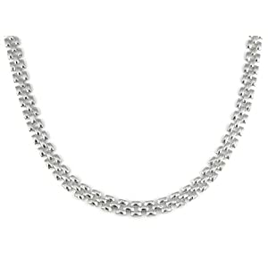 sterling silver panther necklace 17 inch