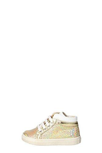 Ciao Bimbi 12009.27 Sneakers Bambina Pelle Oro Oro 22