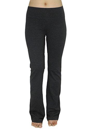 bally-total-fitness-damen-casual-wear-lounge-hosen-yoga-pants-m-dunkel-grau