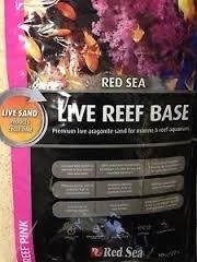 red sea reef base aragonite sand pink (live)