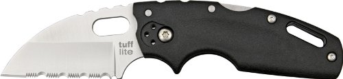 Cold Steel Tuff Lite Serrated Edge Folder Knife