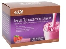 Advocare Meal Replacement Shake Berry Flavor -Box of 14 Single Serve Pouches