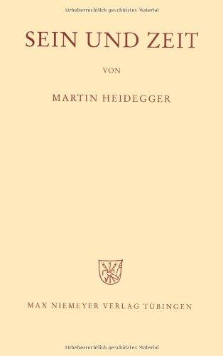 Sein Und Zeit (German Edition)