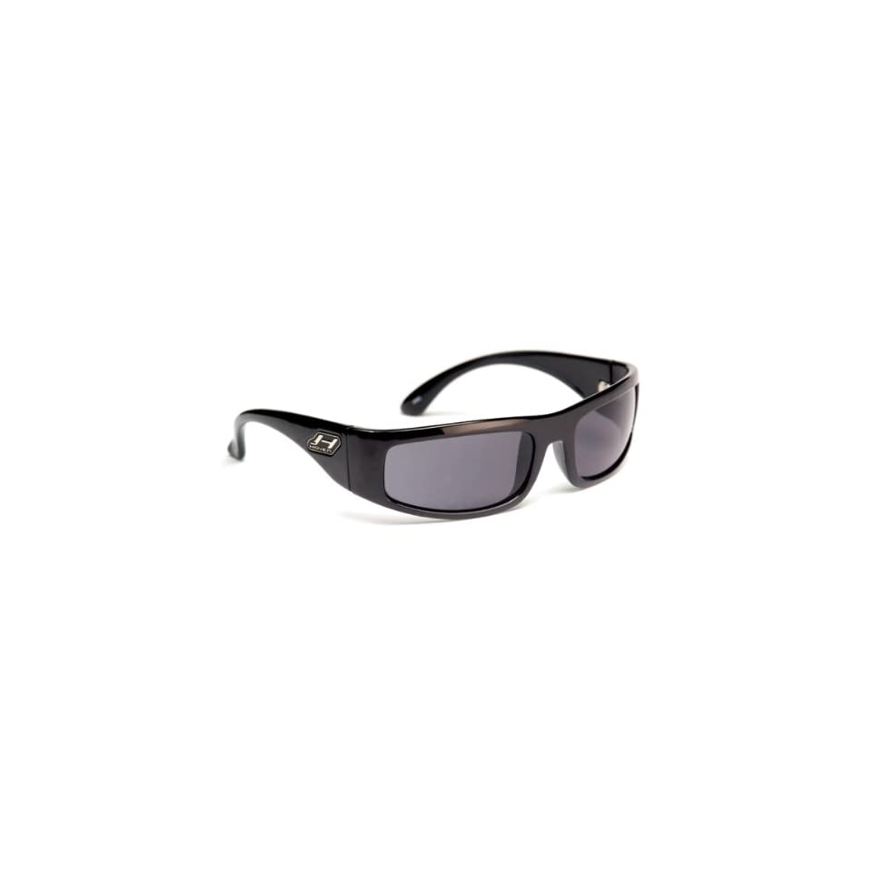 ad8d2d285a8 Hoven Greaser Sunglasses Black Gloss Grey Polarized on PopScreen