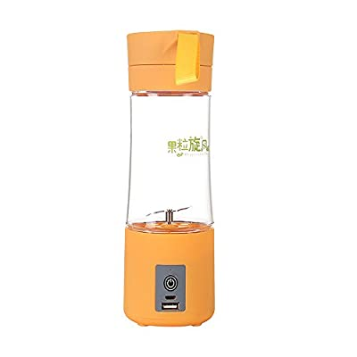 BPULS Mini Bottle Juicer Electric Personal Juicer Sports Bottle Protein Shaker Mixer Smoothie Maker Blender Generation 5