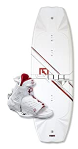 CWB Board Co Pure 141 Wakeboard with Torque Boots (XX-Large)