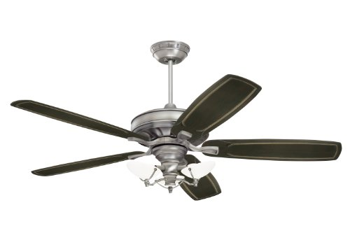 Emerson Cf787Ap Carrera Grande Indoor/Outdoor Ceiling Fan, 54-Inch, 60-Inch Or 72-Inch Blade Span, Antique Pewter Finish, Blades Sold Separately front-399648