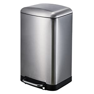 30 Liter Rectangular Trash Can Office Products