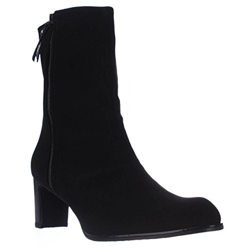 Stuart Weitzman Gorki Waterproof Rain Boots - Black
