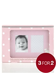 Baby Imprint Maker & Photo Frame