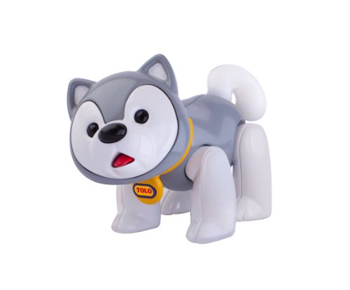 Tolo First Friends Grey Husky Dog front-599218
