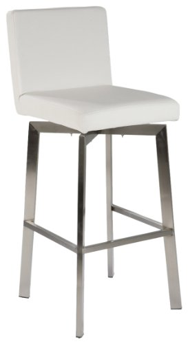 Moe's Home Collection Giro Counter Stool, White