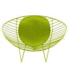 Arper - Leaf Lounge-Sessel, grün