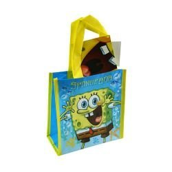 Sponge Bob Mini Non Woven PP Tote Bag with Hangtag