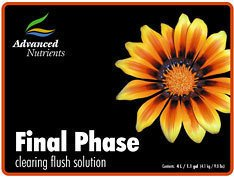 Advanced Nutrients Final Phase Flushing Solution