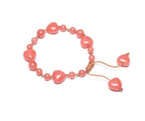 Lola Rose 'Ruthie' Pink Coral Quartzite Bracelet