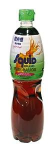 Squid Fischsauce,, (77% Sardellenextrakt), 700ml, 3er Pack (3 x 700 ml Packung)
