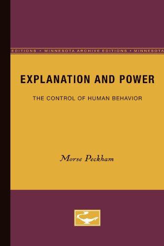 Explanation and Power: The Control of Human Behavior
