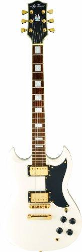 Jay Turser 50 Series Jt-50-Custom-Iv Electric Guitar, Ivory