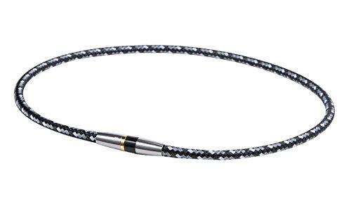 ファイテン(phiten) RAKUWAネックX50 ハイエンドIII ブラック 50cm 0211TG475053