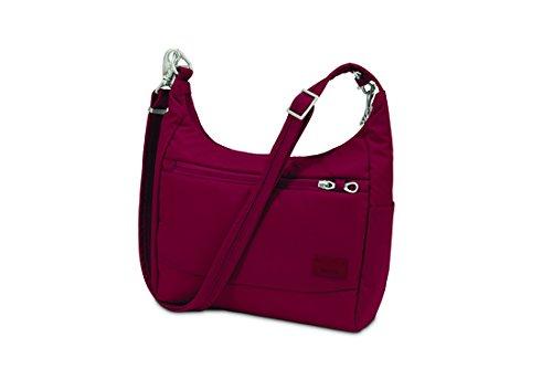 pacsafe-citysafe-cs100-reise-handtasche-cranberry
