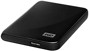 "Western Digital - My Passport Essential SE - Disque dur Externe Portable 2,5"" - USB 3.0 / USB 2.0 - 1 To - Noir"