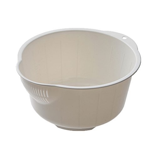Japan Bargain Japanese Fruit Vegetable Rice Wash Bowl #4787