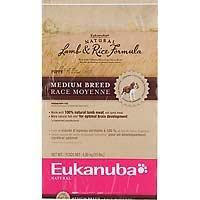 Cheap EUKANUBA NAT LAMB & RICE PUPPY 35 LB BG (4544:2011854)
