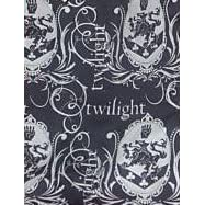 Twilight Logo and Cullen Crest Blue Tote Bag