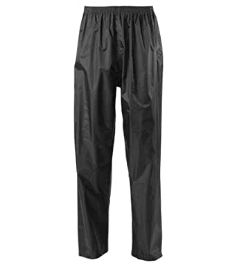 Blackrock Black Waterproof Trousers Breathable Hiking Pants Sizes Small - 2XL (Small)