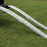 Extreme Max 5500.4018 Arched Folding Mesh Ramp Set