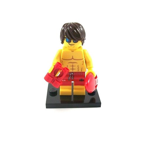 LEGO Minifigures Series 12 Lifeguard Minifigure [Loose] - 1