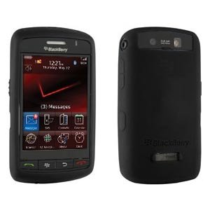 RIM (OEM) BlackBerry Skin Case Cover forBlackBerry Storm 9500 - Black