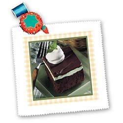 Irish Chocolate Mint Dessert - 10x10 Quilt Square