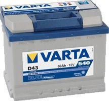 AUTO BATTERIE VARTA BLUE DYNAMIC