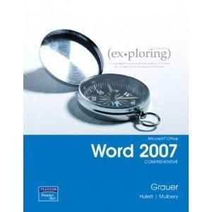 Exploring Microsoft Word 2007 Comprehensive Student CD