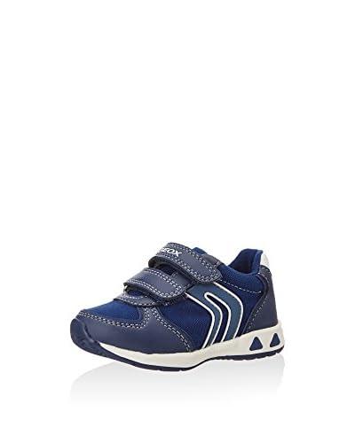 Geox Zapatillas B TEPPEI BOY A Azul Marino / Blanco