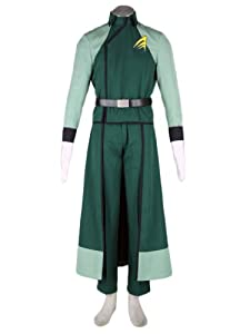 CTMWEB Mobile Suit Gundam 00 Cosplay Costume - A-Laws Male Uniform Small