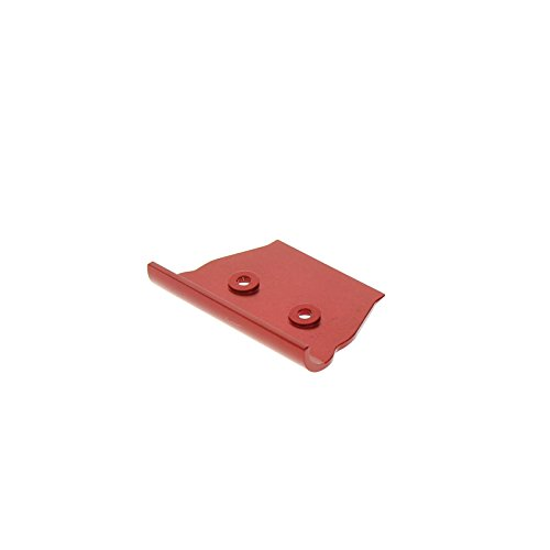 GPM Racing Front Bumper for 1:10 Associated B44.2, Red - 1