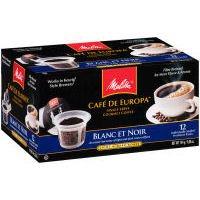 Melitta Cafe de Europa Blanc et Noir K-Cups (Case of 6) from Melitta