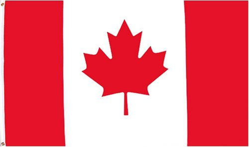 Canada Flag 3 x 5 Brand NEW Maple Leaf 3x5 Banner Huge
