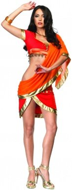 Bollywood Beauty Costume - Medium/Large - Dress Size 8-12