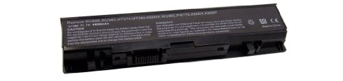 New Replacement Laptop Battery for Dell Studio 1535 1536 15 1555 1537 1557 1558 (Li-ion, 11.1V, 4400mAh, 58wHr, 6 cells) with 2 years commitment