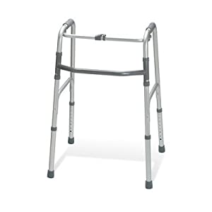 Medline G30760P Adult One-Button Folding Walkers by Medline
