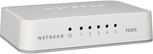 NETGEAR 5-Port Fast Ethernet Desktop Switch - Essentials Edition (FS205)